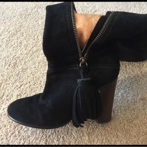 Coach suede boots